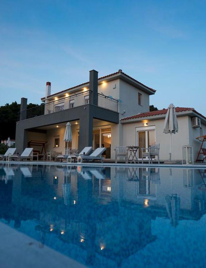 aelia villa by kardous skopelos greece private pool panormos