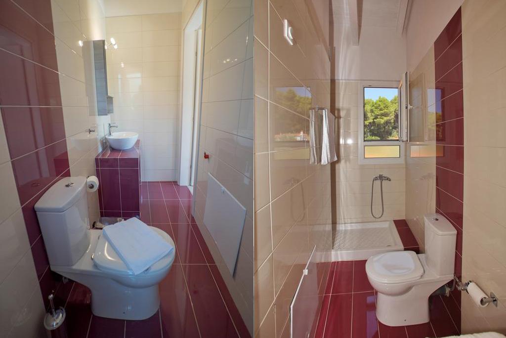 aelia villa bathroom master bedroom first floor skopelos greece vacation