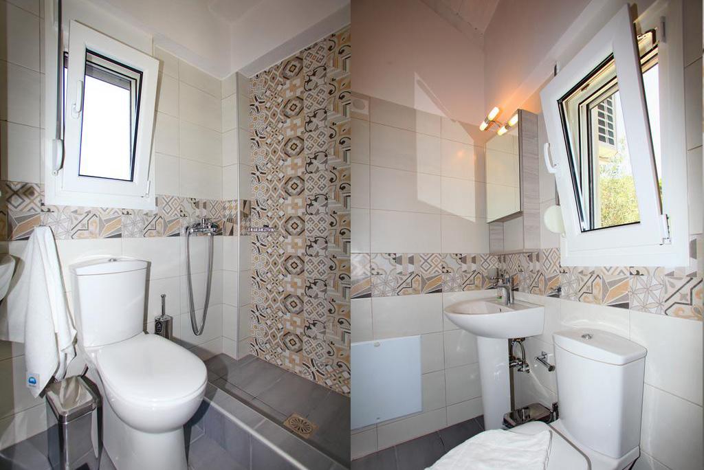aelia villa bathroom skopelos greece vacation