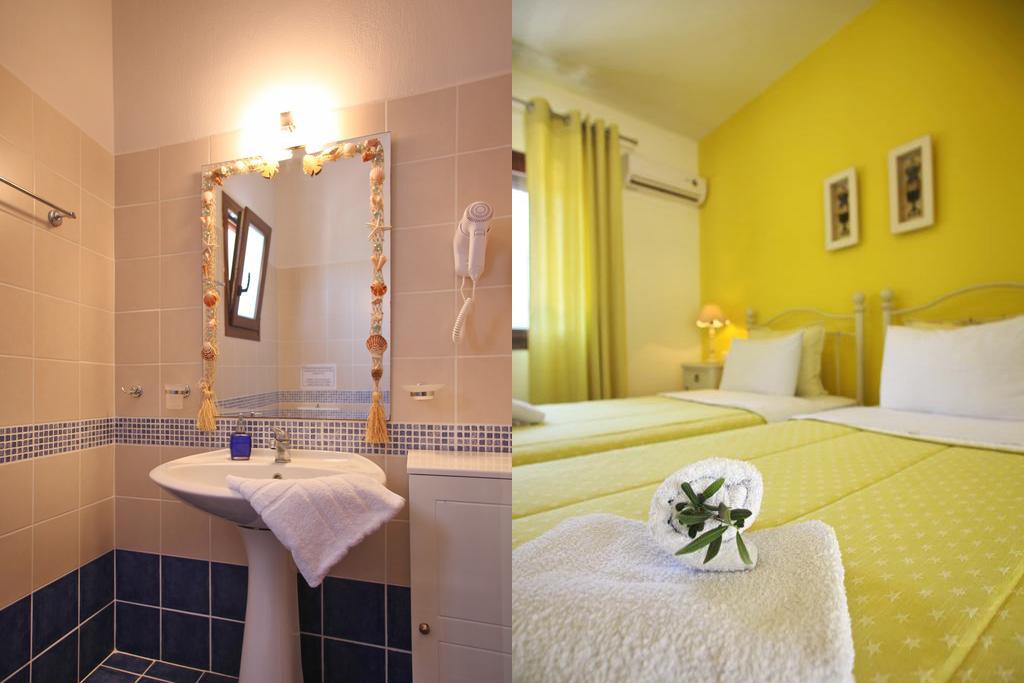villa amaryllis bedroom 2 beds private bathroom kardous villas skopelos greece