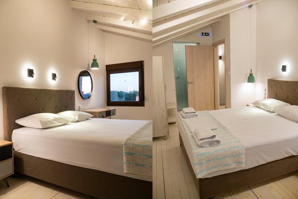 villa amaryllis xenios dias apartment first floor bedrom with private bathroom kardous skopelos lux family villas greece